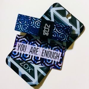ZOX Strap Wristband & Card - You Are Enough